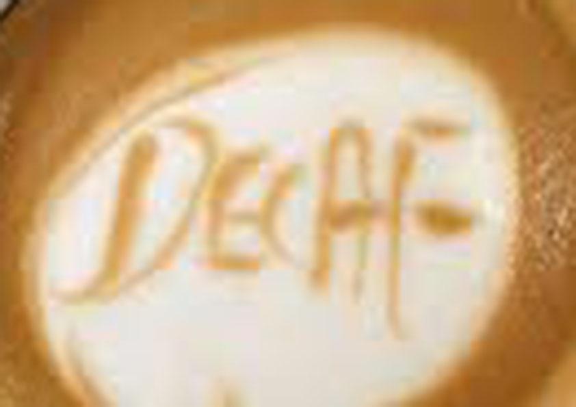 Bezkofeinová káva