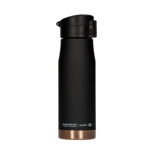 Asobu cestovní termoska Liberty LC17 500 ml - černá/měď Asobu termoska Liberty LC17 0,5l black/cooper