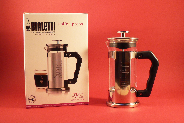 French press Bialetti nápis - 350 ml French press Bialetti nápis - 350 ml