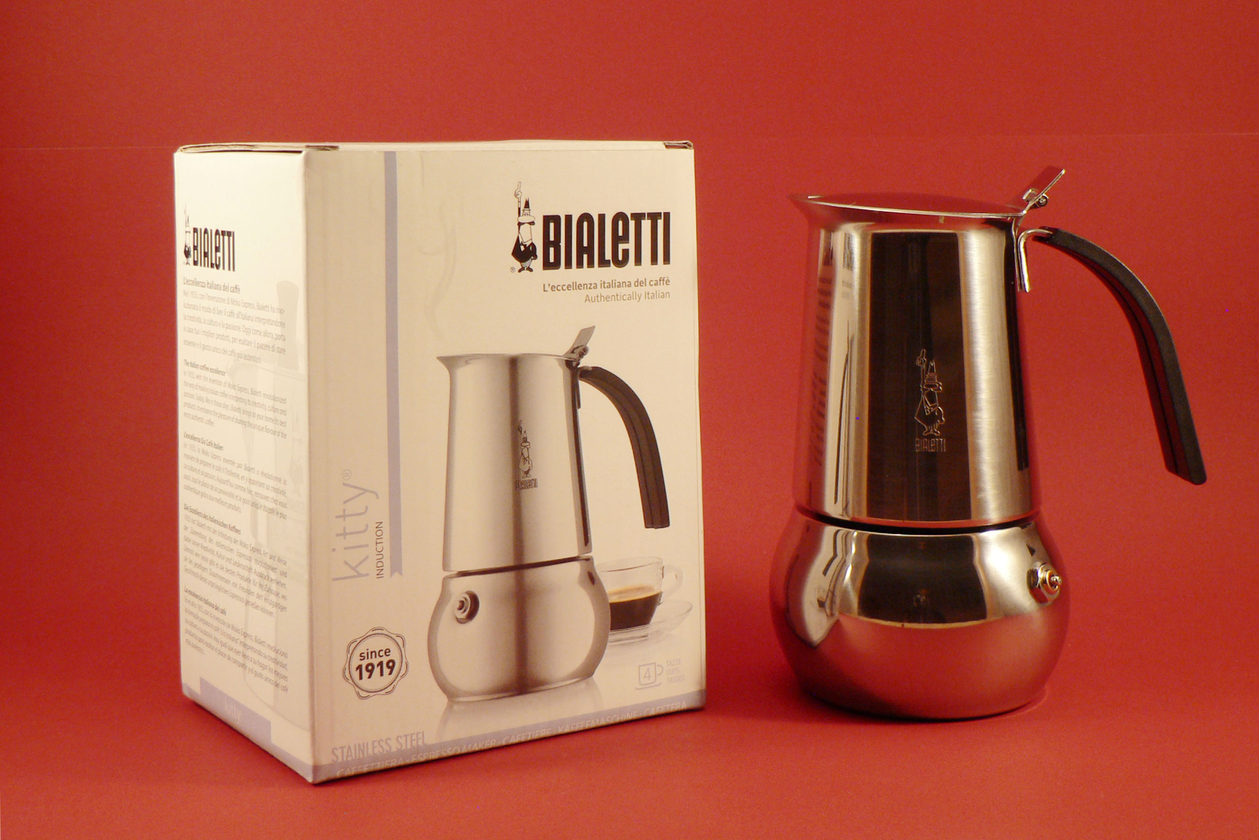 Bialetti Kitty 4 šálky Bialetti Kitty 4