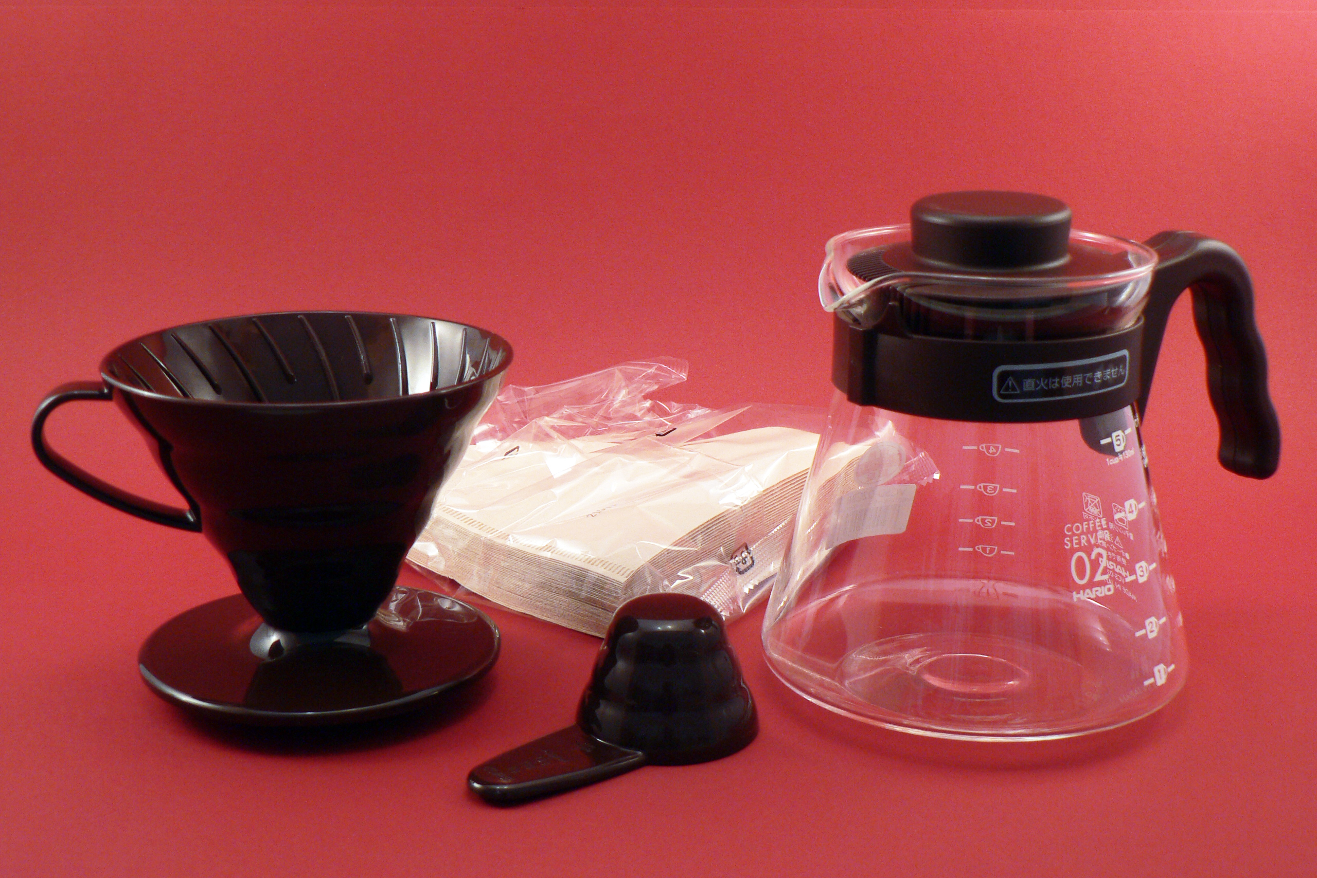 Hario Set V60 Pour over Kit - hnědý